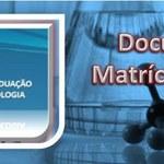 Documentos para Matrícula Institucional no Doutorado 2016.1
